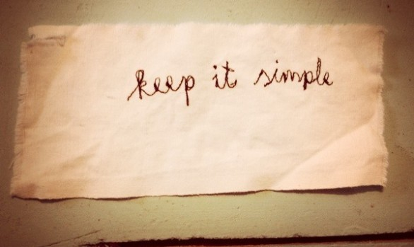 Sve je jednostavno